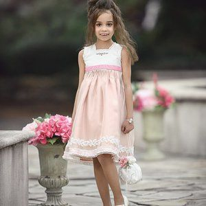 NEW Dollcake Such a Delight Pale Pink & Lace Dress